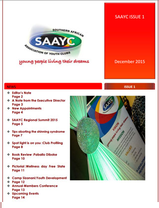 SAAYC Newsletter Issue 1