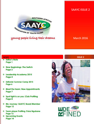 SAAYC Newsletter Issue 2