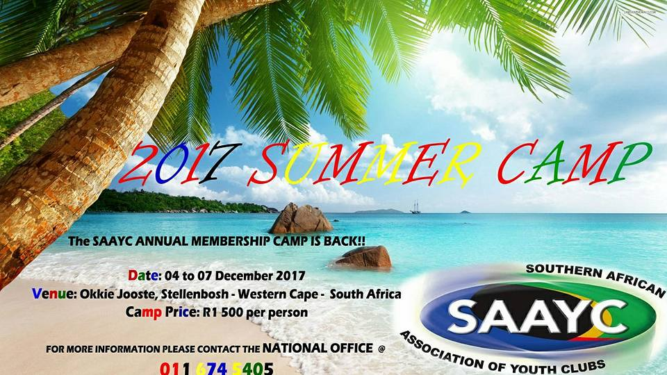 SAAYC Membership Camps