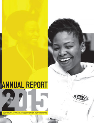 Southern African Association of Youth Clubs Annual Report 2015